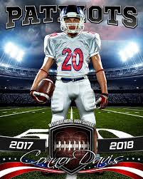 sports poster photo template american football photoshop