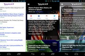 yahoo app for android yahoo s android app integrates summly for faster news