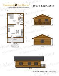 wood cabin plans and designs 20x30 log cabin meadowlark log homes