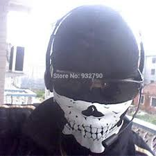 aliexpress com buy skeleton cosplay cs ghost skull face mask