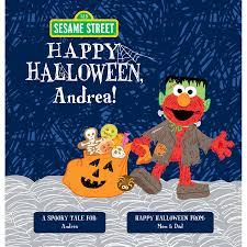 halloween photo book sesame street happy halloween personalized book walmart com