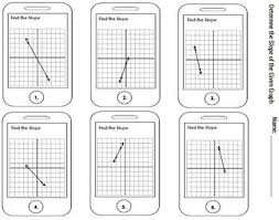slope from graph worksheet free worksheets library download and