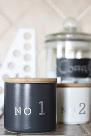 kitchen canisters diy stenciled kitchen canisters no 2 pencil