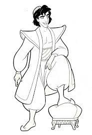 85 best coloring pages aladdin images on pinterest coloring