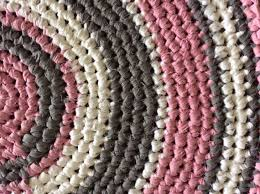 Round Pink Rug For Nursery Pink And Grey Nursery Rug Roselawnlutheran