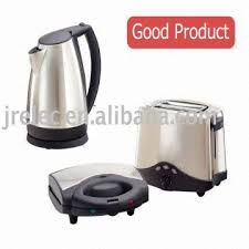 electric kettle electric toaster 2 slice toaster sandwich maker 3