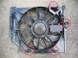 impee u0027s diy radiator electric fan change bmw e46