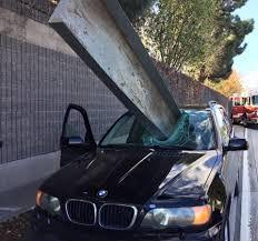 car junkyard antioch ca san jose driver narrowly avoids death when beam hits bmw sfgate