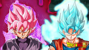 Vs Pink Wallpaper by Super Saiyan Rose Vs Ssjblue Wallpaper By Dragonballaffinity On