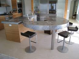 stainless steel kitchen island u0026 bar top with water feature