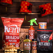 food gifts for men now that the sriracha crate exists if you re still complaining