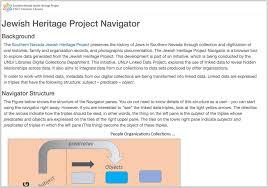 southern nevada jewish community digital heritage project