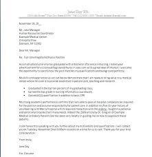 nursing cover letter cover letter for graduate tomyumtumweb