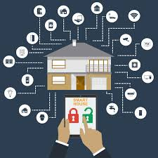 Smart Home Technology Smart Home Flat Design Style Illustration Concept Of Smart House