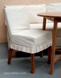 parsons chair slipcovers white drop cloth parson chair slipcovers diy projects