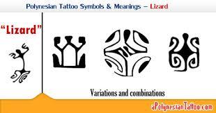 polynesian symbols meanings lizard or gecko