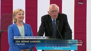 bernie sanders endorses hillary clinton jul 12 2016 c span org