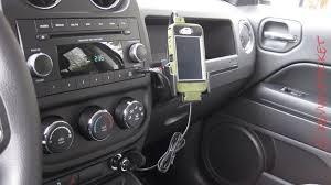 jeep patriot mods proclip usa iphone mount for jeep patriot kevinspocket