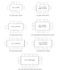 average round table size average dining room table size standard dining room table round