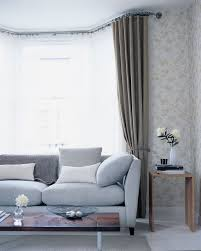 simple and stylish bay window curtains darbylanefurniture com