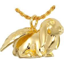 crematory jewelry pet cremation jewelry lop bunny rabbit