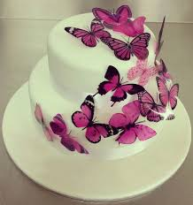 butterfly cake purple butterfly cake fondant cakes in lahore free delivery