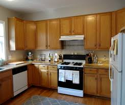 Oak Kitchen Design by Furniture Simple Paint Kitchen Cabinets With General Finishes Gel