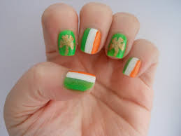st patrick u0027s day 2013 nail art designs manicures for irish holiday