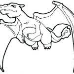 outstanding glamorous pokemon charizard coloring pages image mega