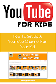 how to set up a youtube channel on an existing account