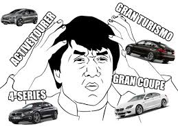Jackie Chan Confused Meme - an idiot s guide to the confusing new bmw line up