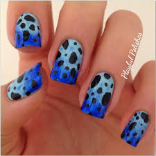 cute light blue nail designs nail designs light blue and silver