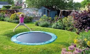 Best Backyard Trampolines Inglefield Next Project Sunken Trampoline