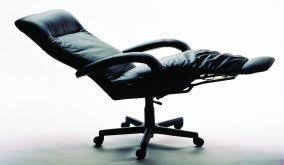 Reclining Office Chair With Footrest Kiri Executive Reclining Chair From Lafer Ergonomic Leather Recliner