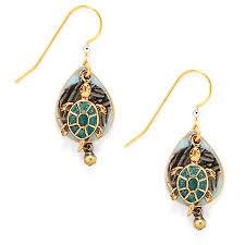 silver forest earrings silver forest sea turtle earrings bealls florida