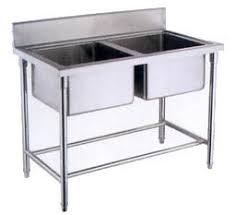 Commercial Kitchen For Sale by Oem Deep Double Sink Stainless Steel Wash Basin For Kitchen For