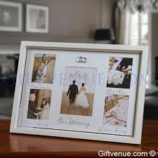 wedding gift photo frame our wedding frame wedding gifts gift idea s for weddings civil
