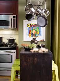 kitchen islands with breakfast bars hgtv ideas for adding dining space to a small kitchen