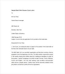 Mergers And Inquisitions Resume Bank Teller Cover Letter