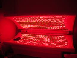 red light therapy tanning bed the latest trend in holistic skin care the full body led light bed