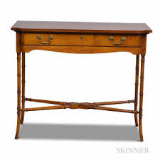 wellington hall end table search all lots skinner auctioneers