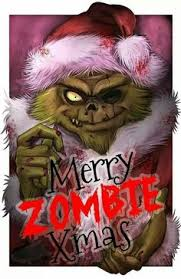 zombie christmas zom bees card for husband zombies zombie