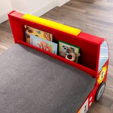 Famsa Dallas Store Hours by Kidkraft Fire Truck Toddler Bed Walmart Com