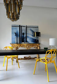 yellow dining chairs artenzo