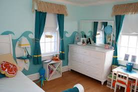 kids bedroom designs beach inspired bedroom design with blue sea wall decoration on