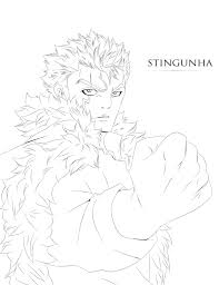 laxus fairy tail 357 lineart by stingcunha on deviantart