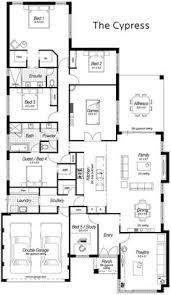 Large House Blueprints Single Storey House Designs Perth The Sycamore Ross North