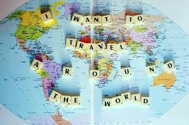 dreams of a trip around the world may never come to pass here is