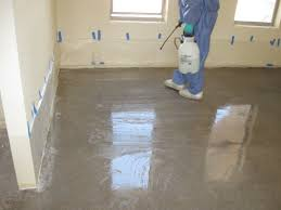 Concrete Floor Sweeping Compound by Stained Concrete Floors Part I The Homestead