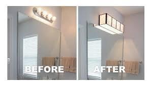 How To Remove Bathroom Mirror Install A Bathroom Light Yourself Louie Lighting Blog Diy